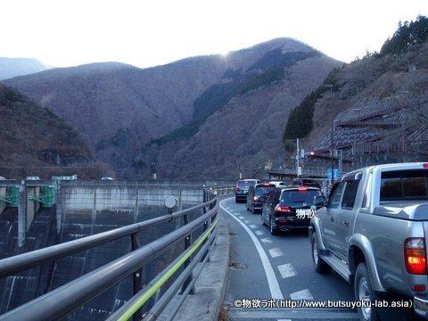 二瀬ダムの三峯神社への入口付近の画像