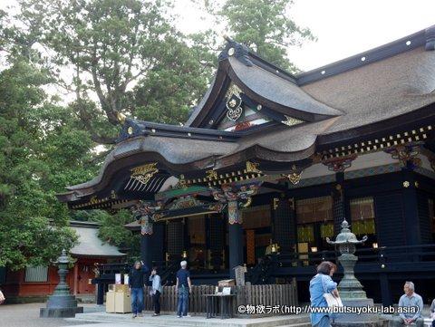 香取神社 拝殿