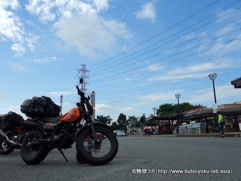 関越自動車道 三芳SA下りにて