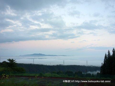 「清田山キャンプ場」からの景色