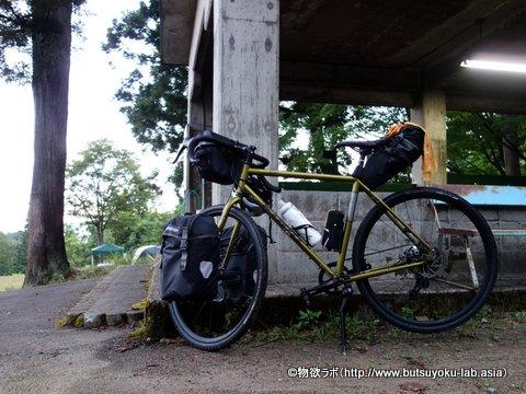 クニさんのCAMP仕様の自転車